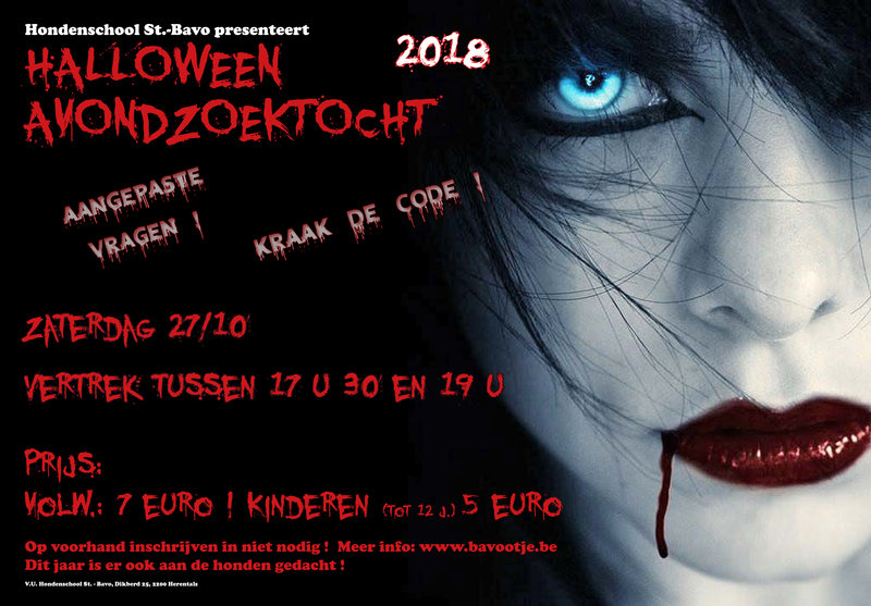 Raadsels Halloween.Halloween Avondzoektocht Herentals Wattedoen Be