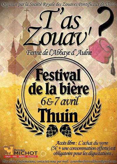 Tas Zouav Festival De La Biere