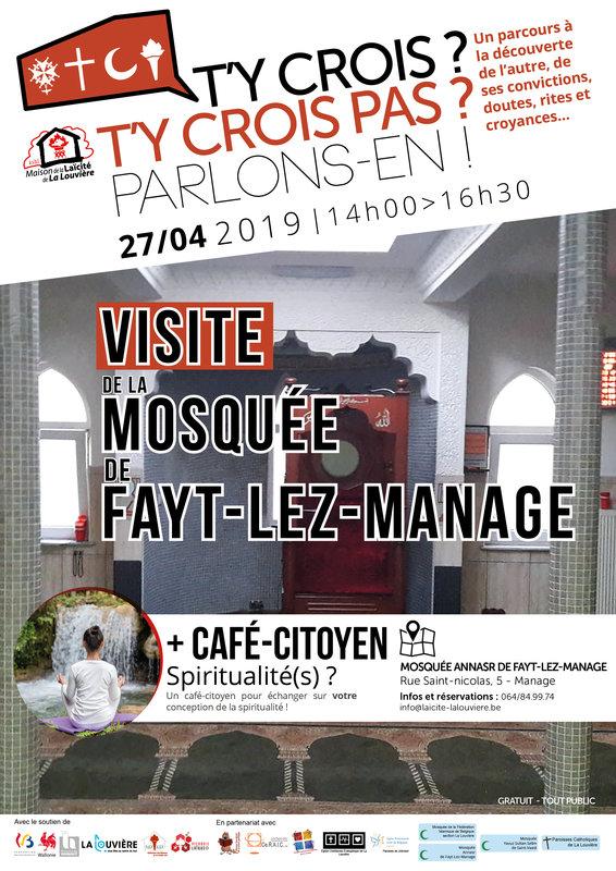 Loisirs Visite La Mosquee Cafe Citoyen Spiritualites