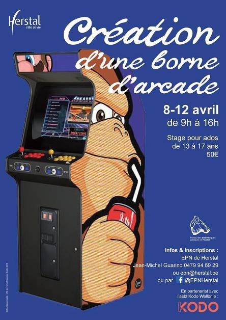 Stagescours Creation D Une Borne Arcade
