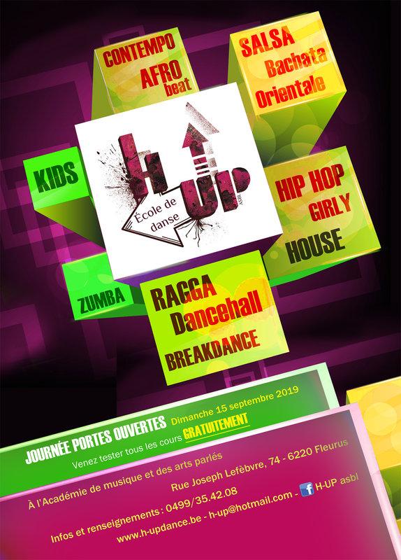 H-UP - École de danse