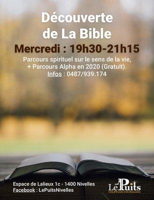 Stages,cours Parcours spirituel - Découverte la Bible