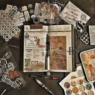 Stages,cours Cahier créatif (Bullet journal)