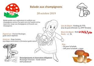 Loisirs Balade champignons