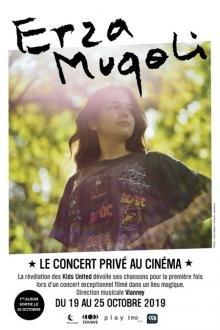 Spectacles Concert: Erza Muqoli: concert privé cinéma