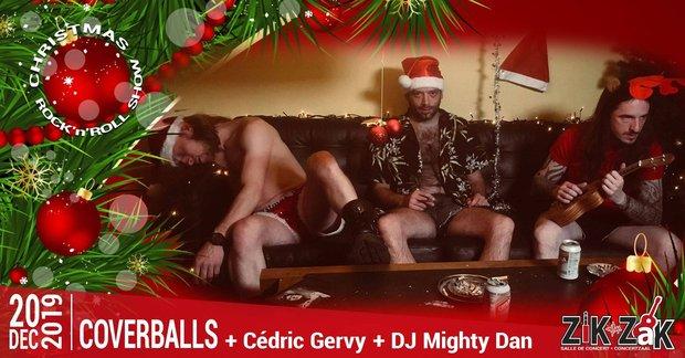 Concerts Coverballs – Show Spécial Noël + Cédric Gervy + Mighty I Zak