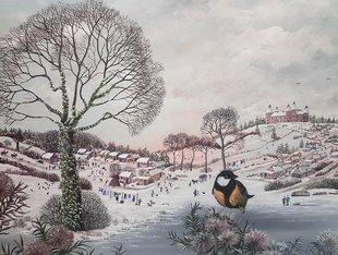 Expositions Exposition peintures cadeaux Noël