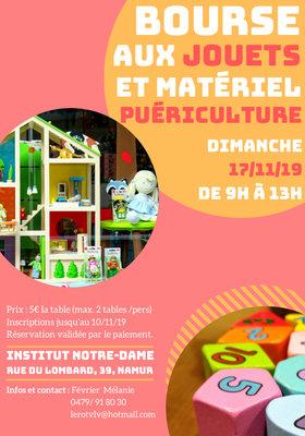 Loisirs Bourse jouets, vêtements pour enfants matériel puériculture