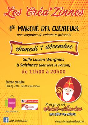 Marchés de Noël Les créazinnes