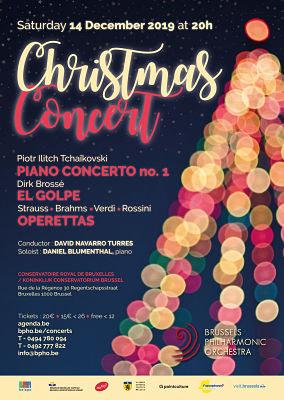 Groot KerstConcert van het Brussels Philharmonic Orchestra