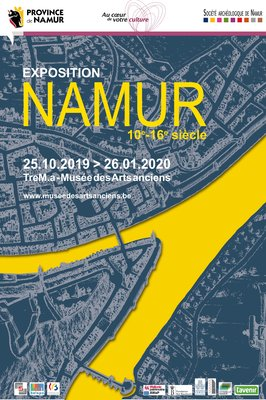 Expositions Namur. 10e-16e siècle
