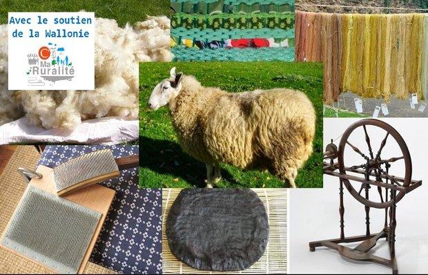 Stages,cours Travail la laine, la toison produit fini