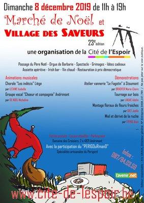 Marchés de Noël Marché Noël Village Saveurs
