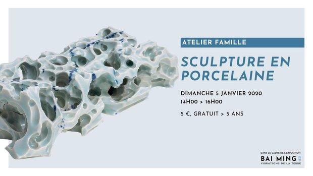 Stages,cours Atelier famille / Sculpture porcelaine