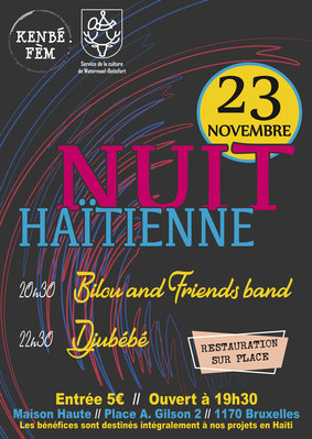 Concerts 5ème Edition la Nuit Haïtienne