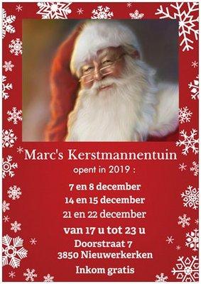 Kerstmarkten Open kersttuin Marc s Kerstmannentuin