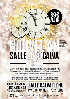 Soirées Nouvel 2020 - Salle Calva Flénu