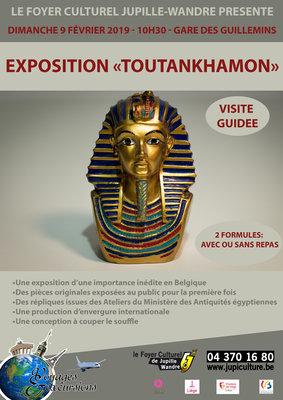 Excursions, séjours Exposition «Toutankhamon»