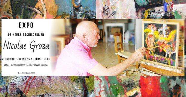 Expositions Nicolae Groza : exposition peinture