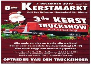 Kerstmarkten Kerstmarkt kerst truck show rechteroever Ninove