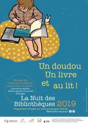 Spectacles La Nuit Bibliothèques - Lectures pyjama