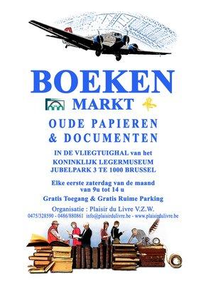 Ontspanning Boekenmarkt, Oude documenten, Affiches, Cartografie, Kunst enz.