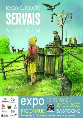 Expositions Expo  Jean-Claude Servais. Au-delà trait