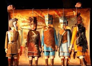 Spectacles Festival Noël Théâtre - 4 Fils Aymon - Royales Marionnettes