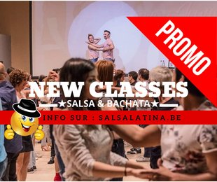 Stages,cours New Classes Salsa & Bachata Debutant