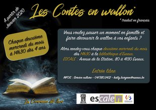 Spectacles Contes wallon