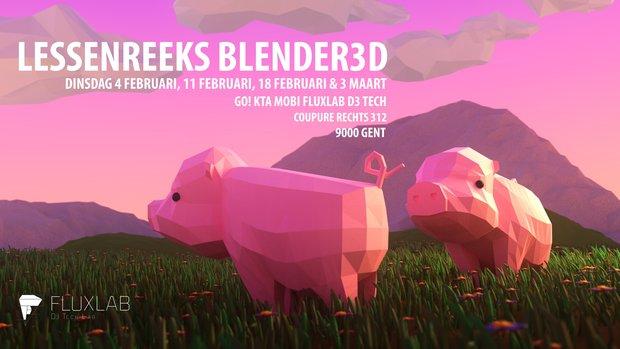Workshops Lessenreeks Blender3D