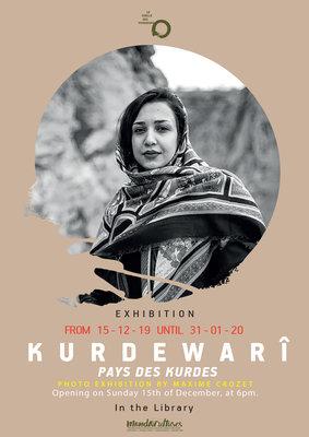 Expositions Kurdewarî, pays Kurdes Maxime Crozet