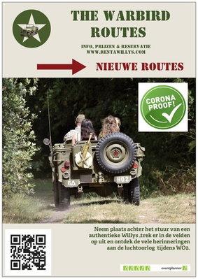 Ontspanning The Warbird Routes: historische ontdekkingstocht een willys jeep