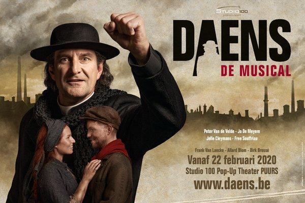 Voorstellingen Daens, musical