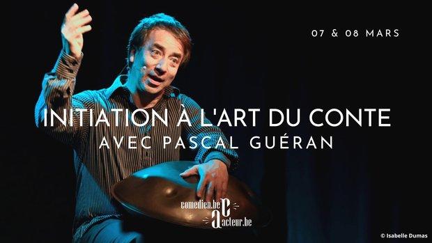 Stages,cours Initiation à l art conte avec Pascal Guéran