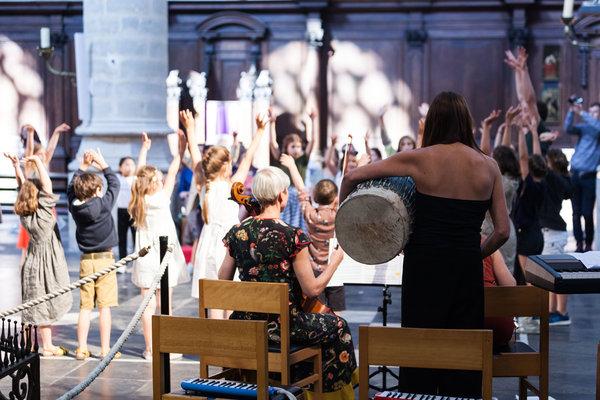 Workshops Muziekvakantie vlucht Atalanta' Antwerpen