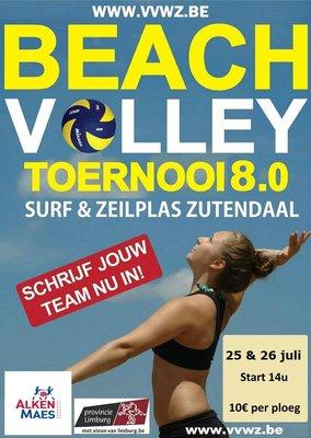 Ontspanning Beach volleyball toernooi