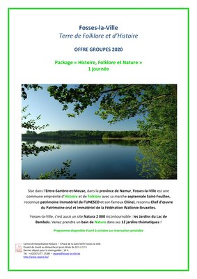 Loisirs Package 1 jour Histoire, Folklore Nature