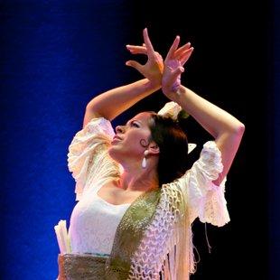 Voorstellingen  tapas & Flamenco  optreden Las Canasteras: Nina Pérez Lara Vanderhaeghe
