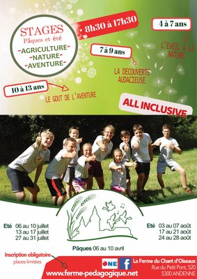 Stages,cours Stage Agriculture-Nature-Aventure