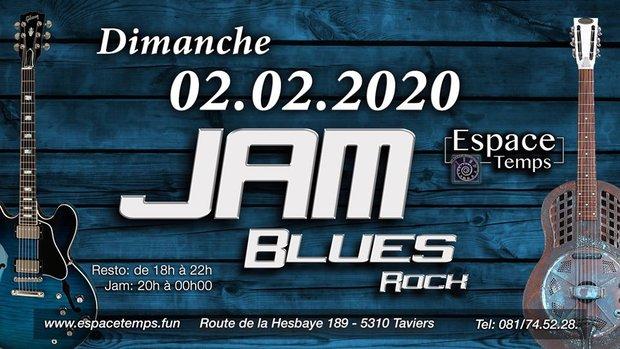 Soirées Jam Blues/Rock