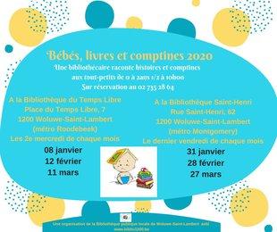 Spectacles Bébés, Livres Comptines - Lectures pour bébés
