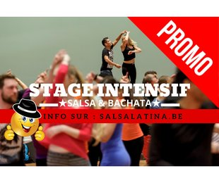 Stages,cours New Classes Intesif Salsa & Bachata Débutant