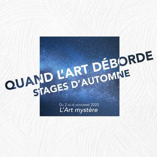 Stages,cours Stage d'automne – L'art mystère