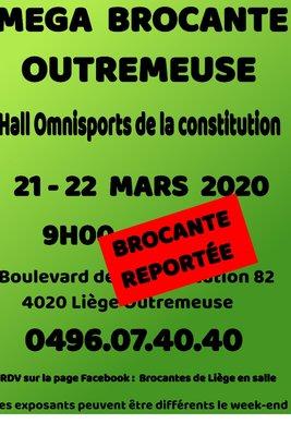 Mega brocante hall omnisports la constitution