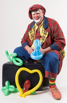 Ontspanning Optreden Clown Fanny