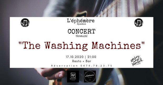 Concerts Concert  The Washing Machines