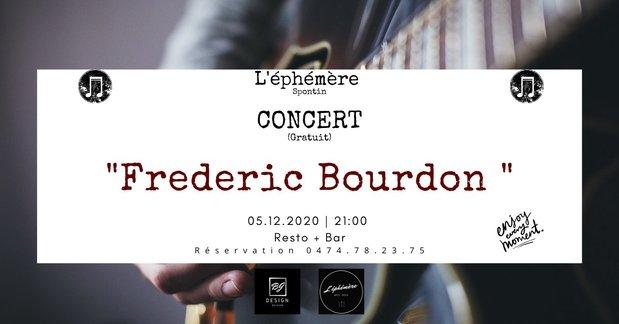 Concerts Concert  Frederic Bourdon