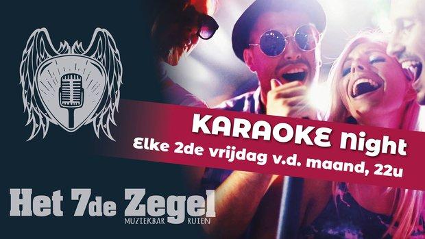 Nachtleven YouStar Karaoke Night - 7de Zegel