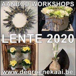 Workshops Workshops bloemschikken Pasen - Lente - Zomer